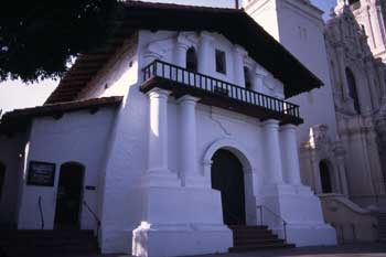 Front of Mission Church