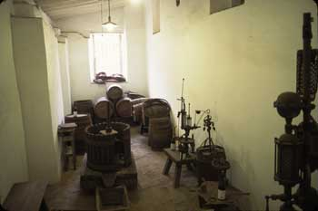 Wine Making Room