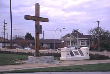 Cross at Entrance